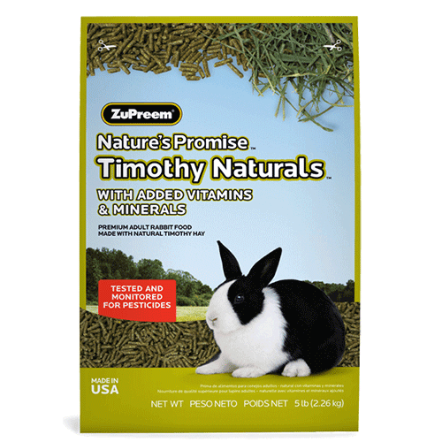 Natures Promise Timothy Naturals Rabbit Food