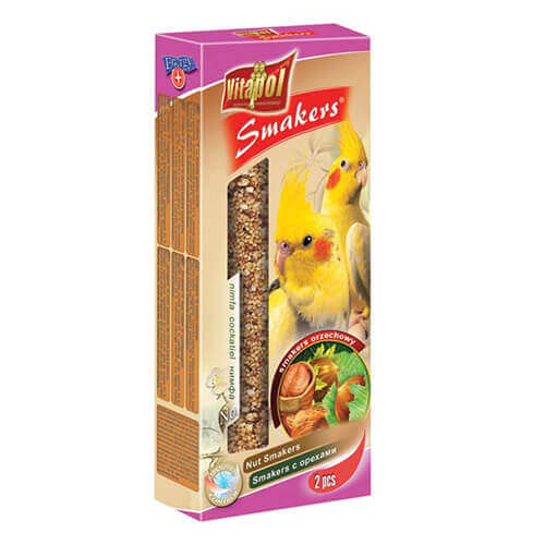 Nut Smakers For Cockatiel - 90 Gm