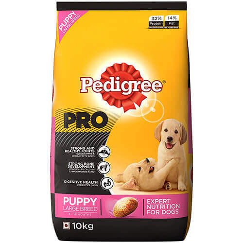 Pedigree Puppy Large Breed 3Kg