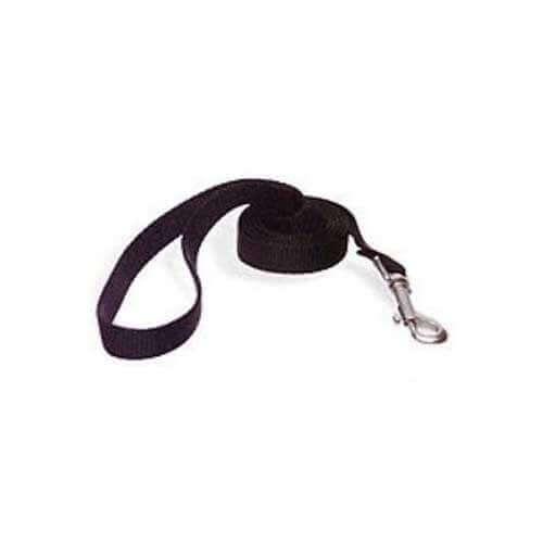 Aspen Pet Nylon Black Leash 15010