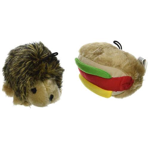 Booda Corporation Aspen DAP07549 Soft bite Hottdog-Hedgehog Small 2-Pack