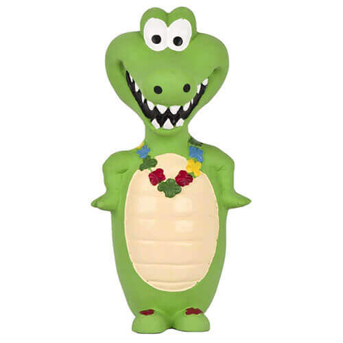 Pet Brands Go Wild Crocodile Latex Toy