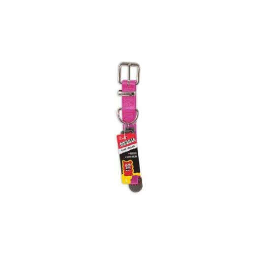 DOGZILLA CUSTOM FIT COLLAR LARGE 1X 16-26 PINK