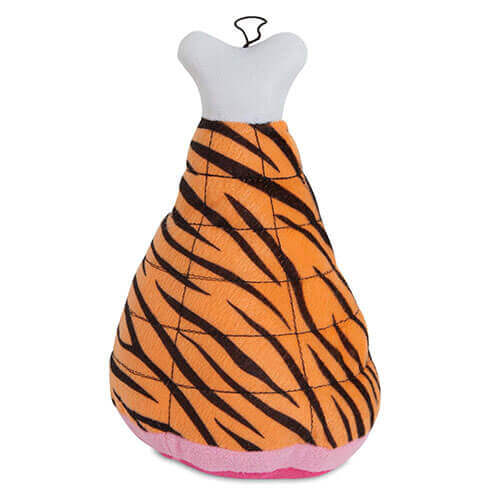 Fat Cat Zoobilee Mighty Meaties Tiger Small Size