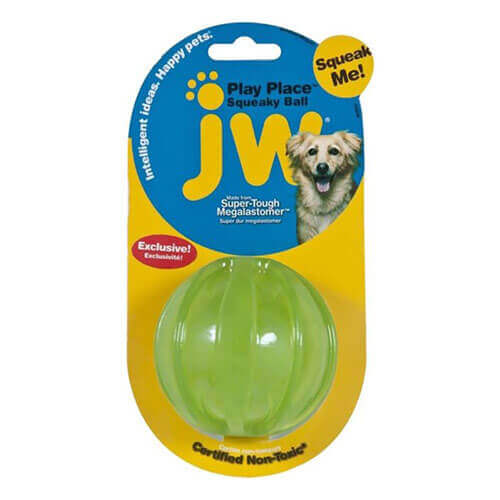 JW Playplace Squeaky Ball Medium (Assorted)