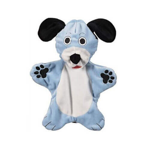 JW Pet Company Crackle Heads Dougie Dog Toy