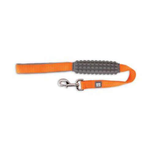 DOGZILLA NYLON CITY Leash_1inX2ft (Orange)