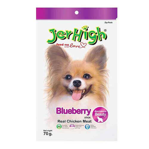 Jerhigh Blueberry Dog Treats 70gm