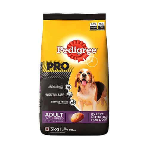 Pedigree Adult Small Breed Dog Food 3 kg