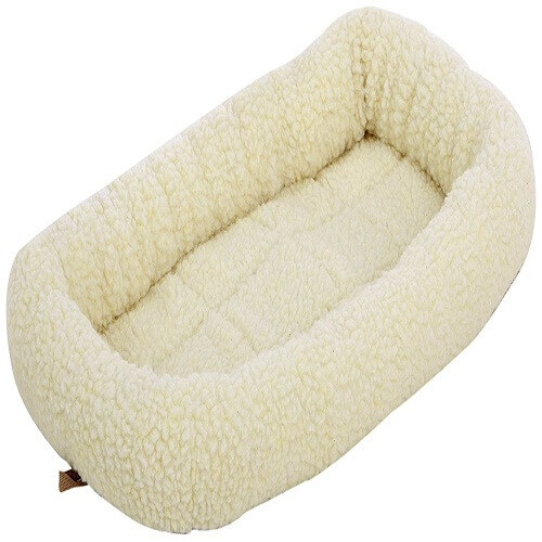 Padded Pet Bolster Bed