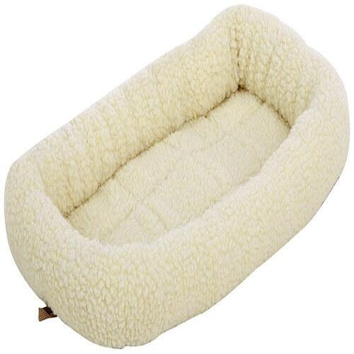Padded Pet Bolster Bed