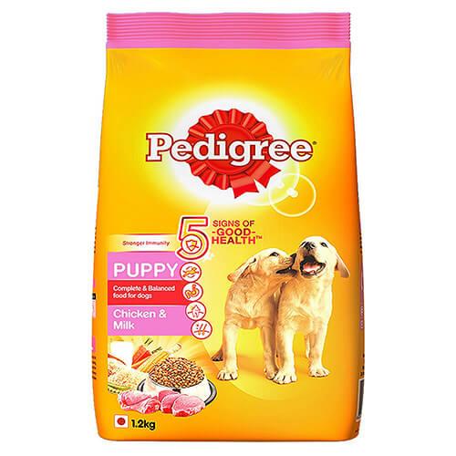 Pedigree Puppy Dog Food Chicken and Milk- 1.2 KG