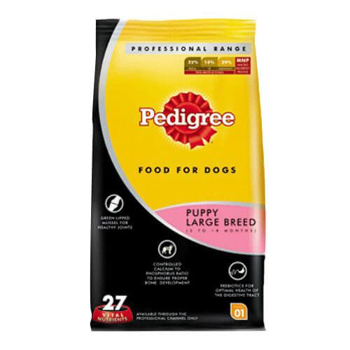 Pedigree Professional Puppy Large Breed Premium Dog Food- 3 KG