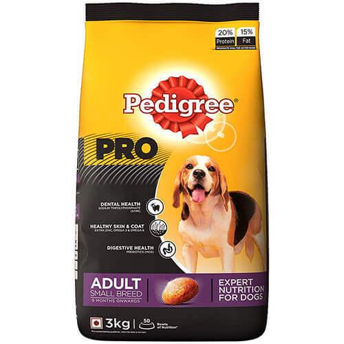 Pedigree Adult Small Breed Dog Food 3 kg