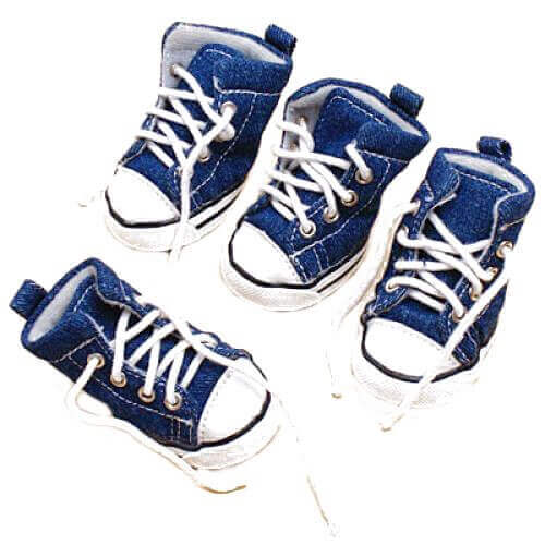 Pet Dog Denim Sport Shoes Boots Sneakers