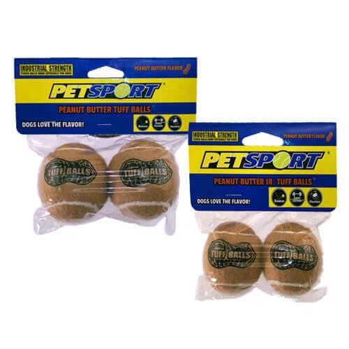 Petsport Jr. Set of 2 Tuff Balls Dog Toys
