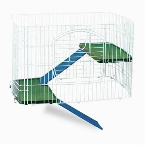 Plastic Clean Living Add-A-Level Small Pet Cage