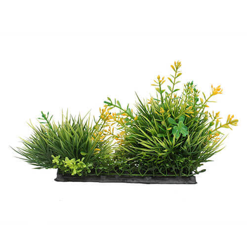 Plastic Green Artificial Plant for Aquarium Decoration