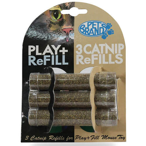Play + Fill Refillable Cat Nip