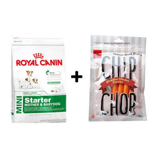 royal canin mini starter 3kg free dog snacks 4petneeds. Black Bedroom Furniture Sets. Home Design Ideas