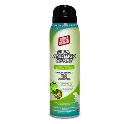Simple Solution Natural Flea And Tick Pets Spray