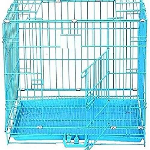 Steel Wire Cage Blue