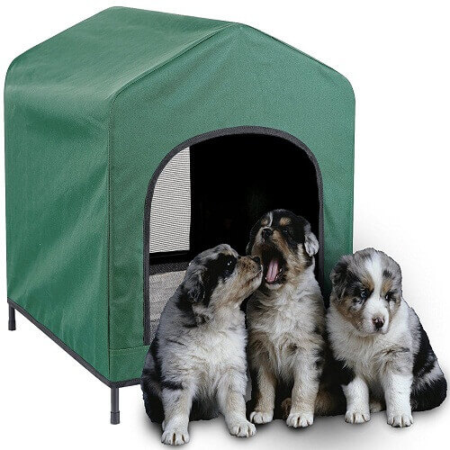 Waterproof Pet Retreat Portable Dog House