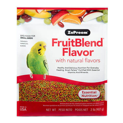 Zupreem Fruit Blend for Small Birds 907 g