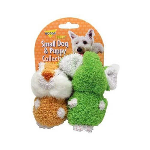 ASPEN 2 Pack Elephant and Chipmunk Small Dog and Puppy Terry