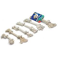 Aspen/Booda Corporation Booda 2 Knot Rope Bone White Colossal