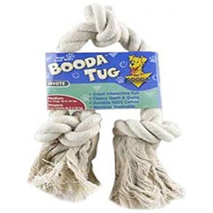 Aspen/Booda Corporation DBX50800 3-Knot Rope Tug Dog Chew Toy, Medium