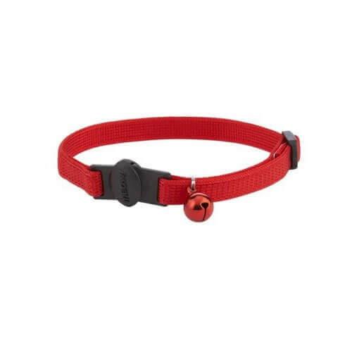 Aspen Pet Break Away Cat Collar 3/8x8-12'' Red Collar