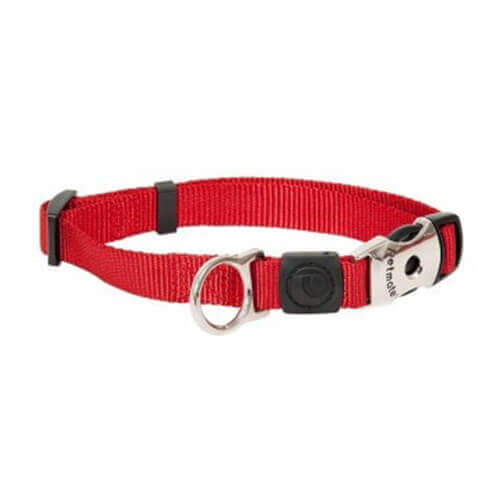 Aspen Pet by Petmate Deluxe Signature Fire Dog Collar, Small