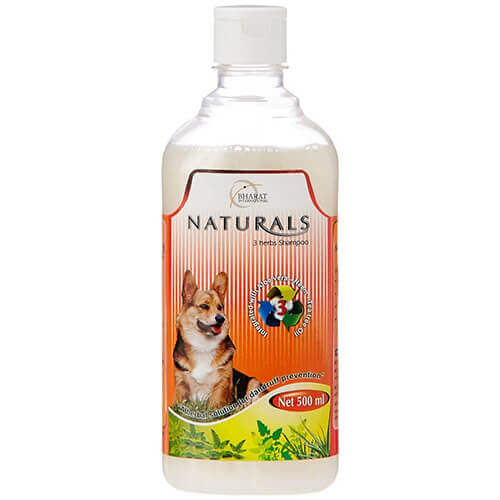 Naturals 3 Herbs Shampoo For Dog - 500 ml