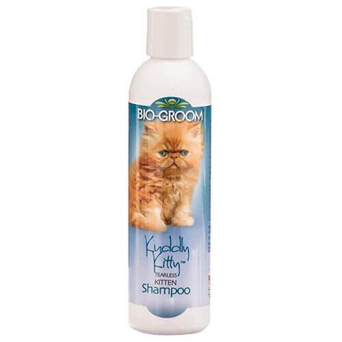 Bio-Groom Kuddly Kitty Kitten Shampoo Tearless Conditioning, 235 ml