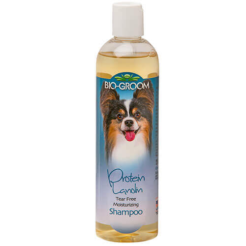Bio-Groom Protein Lanolin Tearless Moisturising Dog Shampoo 355ml