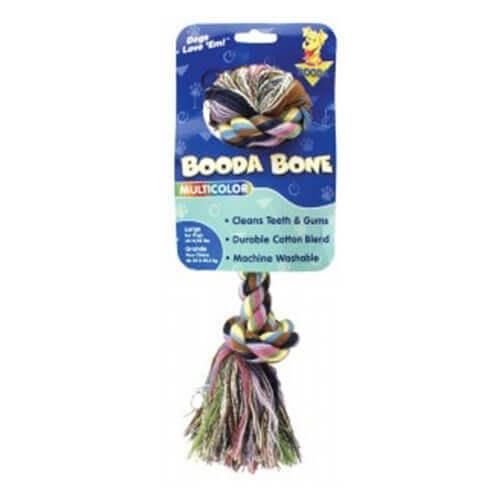 Booda Rope Bone Multi Color Small Size