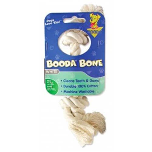 Booda White Color Rope Bone Mini Size