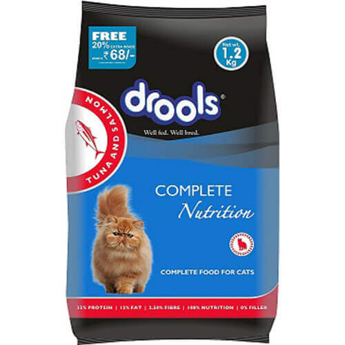 Drools Complete Nutrition Cat Food, 1.2 Kg