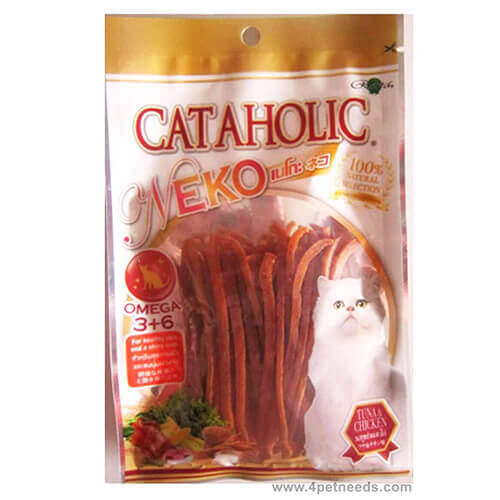 Cataholic Neko Chickens & Tuna Cat Treat - 30 gm