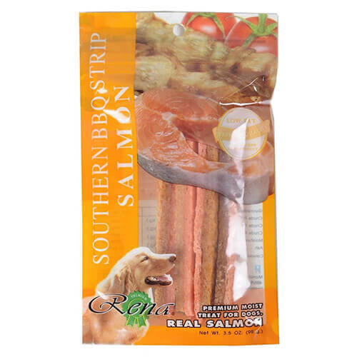 Chip Chops BBQ Chicken Strips with Salmon for Dogs