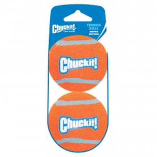 Chuckit Tennis Ball 2 Pack Medium Size