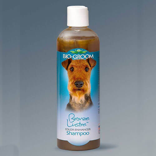 Bio-Groom Bronze Lustre Color Enhancer Dog Shampoo 355ml