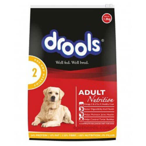 Drools Adult Chicken And Egg 1.2 Kg