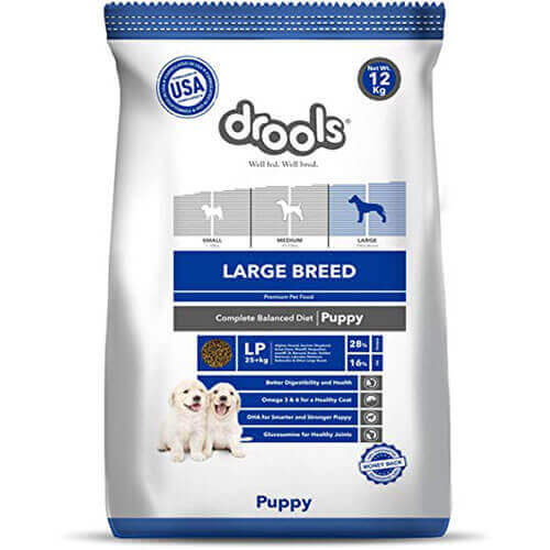 Drools Large Breed Puppy Premium Dog Food- 12 KG