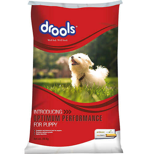 Drools Optimum Performance for Puppy Dog Food, 20 kg