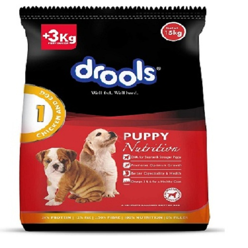 Drools Chicken and Egg Puppy Dog Food 15 KG