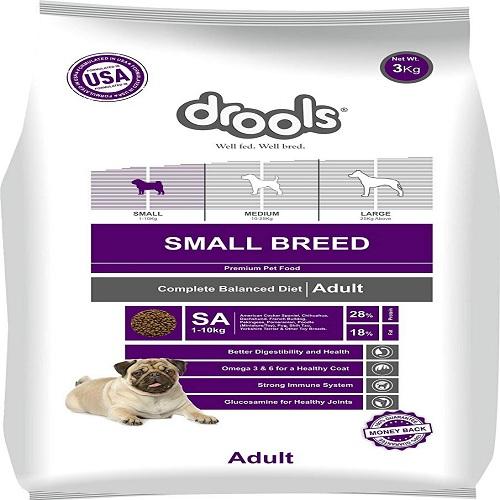 Drools Small Breed Adult Dog Food 3 KG