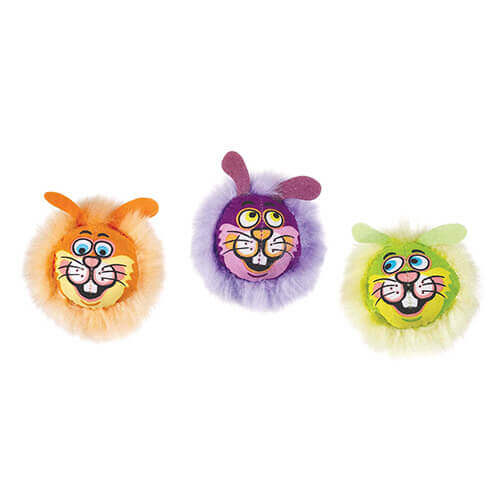 Fat Cat Dust Bunnies Cat Toy (Assorted)