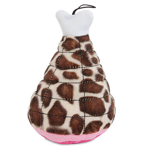 Fat Cat Zoobilee Mighty  Meaties Giraffe Small Size